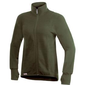 Woolpower Unisex 400 Full Zip Jacket pine green